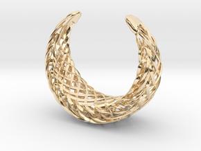 Echo.D bracelet in 14k Gold Plated Brass