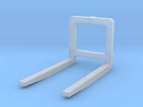 PalletForks - 3pt Hitch in Smooth Fine Detail Plastic