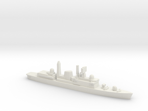 Type 42 DDG (Falklands War), 1/1800 in White Natural Versatile Plastic