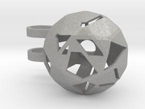 Tiny Phone Lamp - Diamond - M in Aluminum