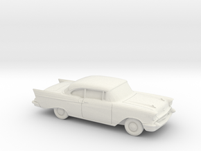 1/87 1957 Chevrolet One Fifty Coupe in White Strong & Flexible