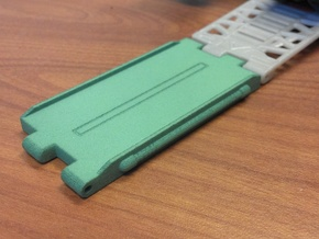 Titans Return Ramp Extension in Green Strong & Flexible Polished