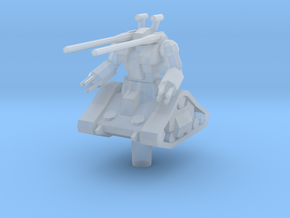 RX-75 Guntank 1:1000 in Smooth Fine Detail Plastic
