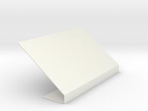 Picture Phone Lamp in White Natural Versatile Plastic