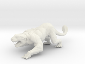 Lizard in White Natural Versatile Plastic