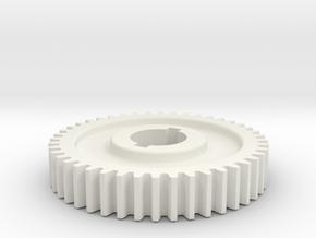 44T Atlas 618/Craftsman 101 Change Gear in White Natural Versatile Plastic