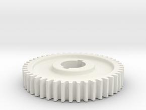 46T Atlas 618/Craftsman 101 Change Gear 46T in White Natural Versatile Plastic