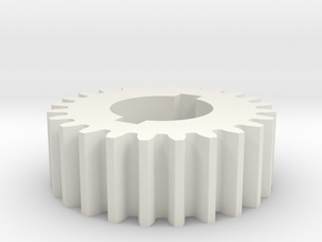 24T Atlas 618/Craftsman 101 Change Gear in White Natural Versatile Plastic