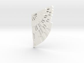 Dr Strange Cloak Fixture - left half in White Processed Versatile Plastic