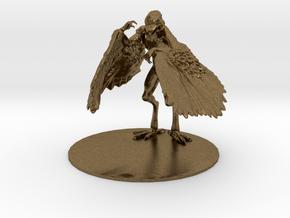 Aarakocra Miniature in Natural Bronze: 1:60.96