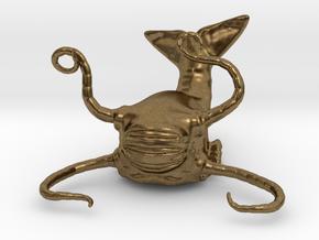 Aboleth Miniature in Natural Bronze: 1:60.96