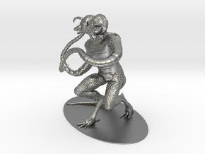 Demogorgon Miniature in Natural Silver: 1:60.96