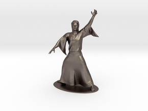 Magic-User Miniature in Stainless Steel