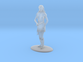 Elven Magic-User Miniature in Frosted Ultra Detail