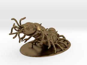 Carrion Crawler Miniature in Natural Bronze: 1:60.96