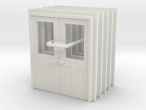 Door Type 11 - 810D X 2000 X 5 in White Natural Versatile Plastic: 1:43.5