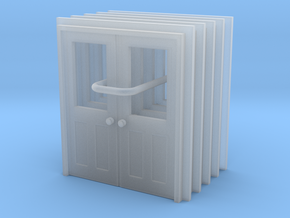 Door Type 11 - 810D X 2000 X 5 in Smooth Fine Detail Plastic: 1:148