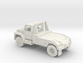 International S-series Tow Truck in White Natural Versatile Plastic