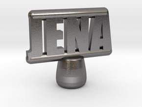Jena Tiller Pin in Polished Nickel Steel
