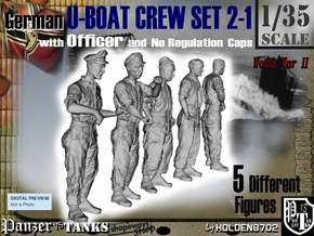 1-35 German U-Boot Set 2-1 in Frosted Ultra Detail