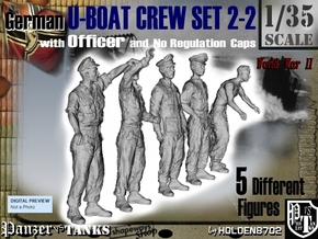 1-35 German U-Boot Set 2-2 in Frosted Ultra Detail
