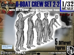 1-32 German U-Boot Set 2-2 in Frosted Ultra Detail