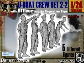 1-24 German U-Boot Set 2-2 in White Strong & Flexible