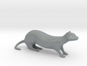 Weasel XL Desktoy in Polished Metallic Plastic