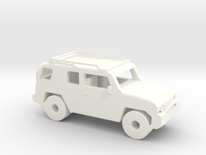 FJ Cruiser 3'' in White Processed Versatile Plastic