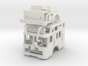 1/87 HME Heavy Rescue Cab in White Natural Versatile Plastic