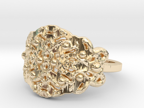 Roots Ring in 14k Gold Plated: 7 / 54
