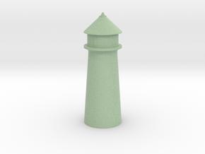 Lighthouse Pastel Green in Full Color Sandstone