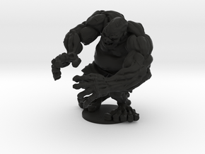 Old Man Hulk in Black Natural Versatile Plastic
