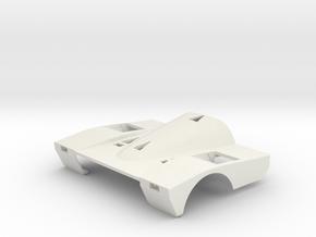 Porsche 962C Short Tail, 1/24 in White Natural Versatile Plastic
