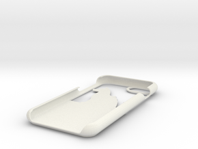 Cat And Dog Wallet Case for iphone 7 in White Natural Versatile Plastic
