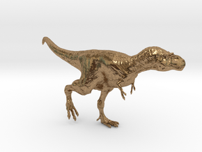 Gorgosaurus (Small/Medium size) in Natural Brass: Small