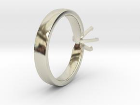 Proto Ring in 14k White Gold