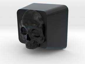 Cherry MX Skull Keycap in Black Hi-Def Acrylate