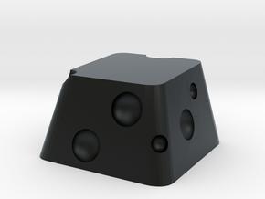 Cherry MX Cheese Keycap in Black Hi-Def Acrylate