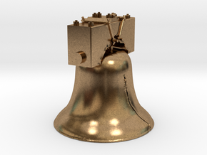 The Liberty Bell in Natural Brass