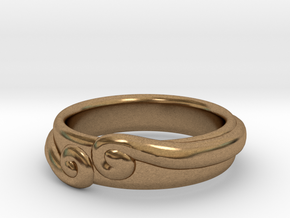 The Secret Ring in Raw Brass: 8.5 / 58