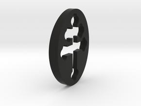 TEAM RING FILL SIZE 12 in Black Natural Versatile Plastic