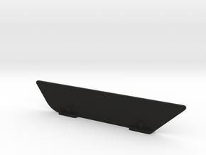 TLR 8IGHT-E 4.0 Stabilizer Fin for stock body in Black Natural Versatile Plastic