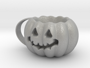 Finished Pumpkin Mug in Aluminum