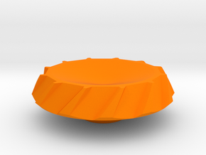 BroConcepts Cap 1 in Orange Processed Versatile Plastic