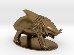 Bulette Miniature in Natural Bronze: 1:60.96