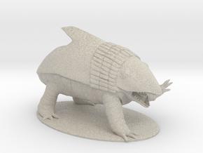Bulette Miniature in Natural Sandstone: 1:60.96