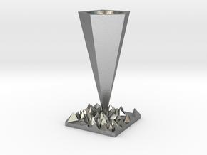 Vase in Natural Silver