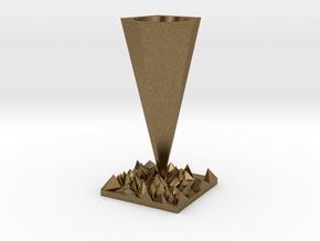 Vase in Natural Bronze