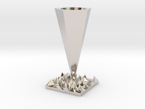 Vase in Platinum
